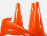 Lot-de-4-cônes-flexibles-de-délimitation-30cm